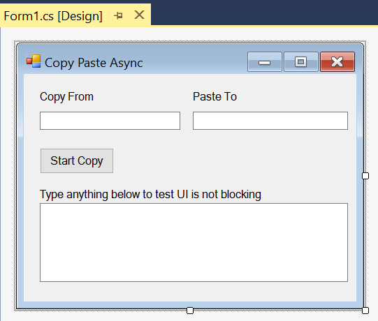 C# Async Await Implementation Examples on Console App, Win